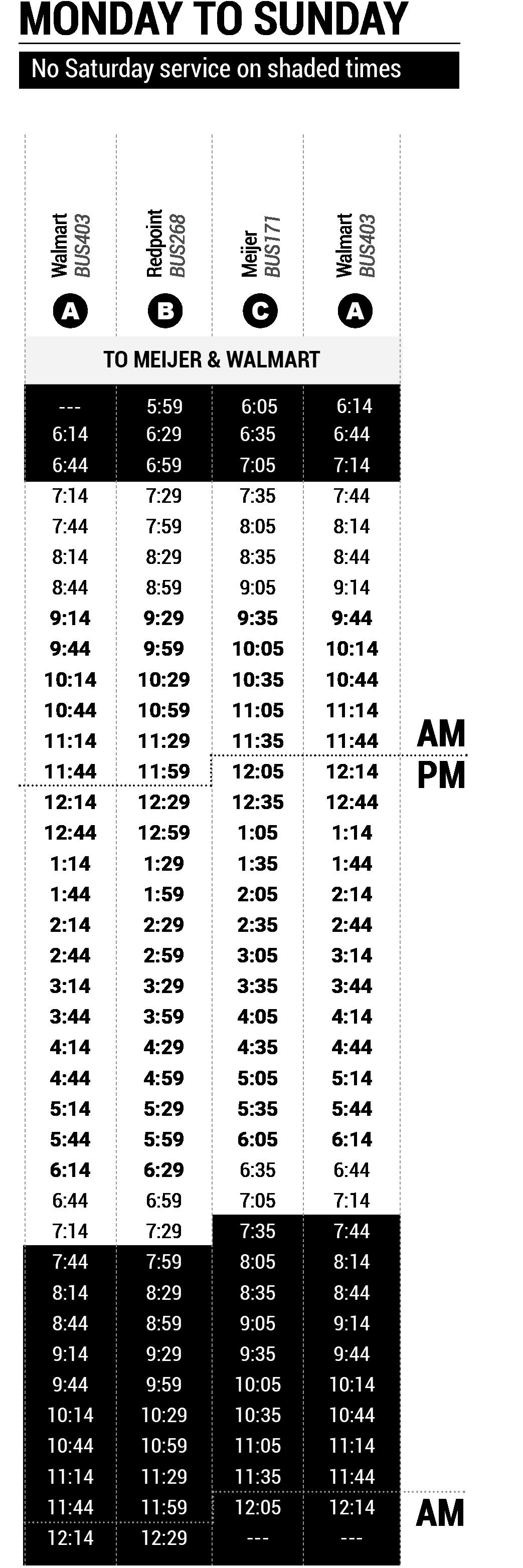 8 Klondike map