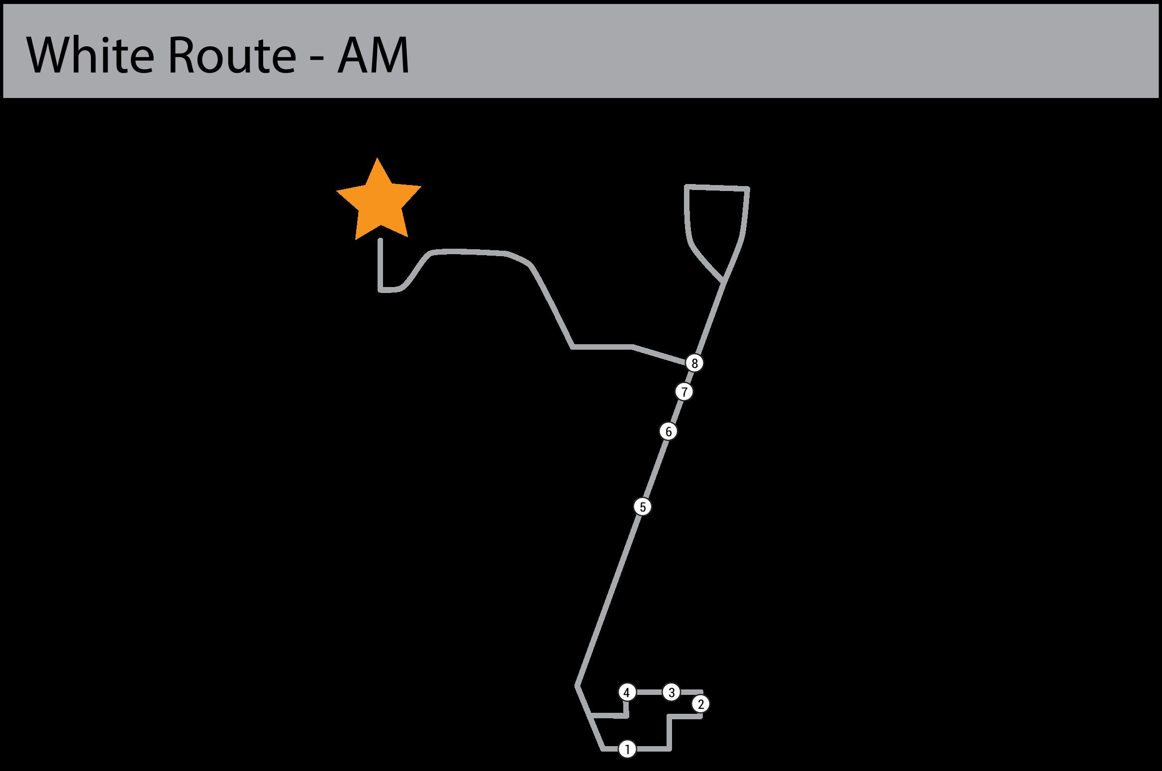 White Line map